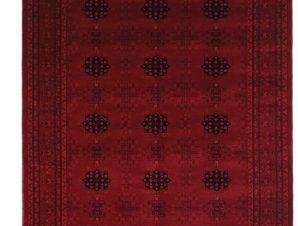 Χαλιά Κρεβατοκάμαρας (Σετ 3 Τμχ) Royal Carpet Afgan 0.67X500Bedset – 8127A D.Red