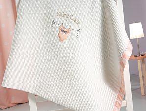 Κουβέρτα Πικέ Κούνιας 110X150 Saint Clair Audrey