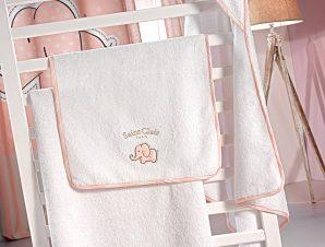 Βρεφικές Πετσέτες (Σετ 2 Τμχ) Saint Clair Africa Pink