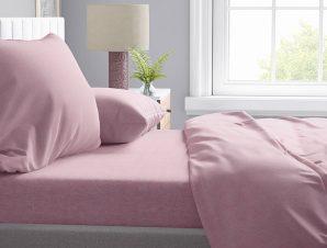 Μαξιλαροθήκη Τεμάχιο 50X70 Dimcol Μελανζέ Pink 07
