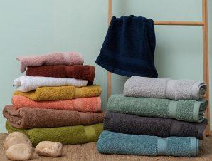 Πετσέτα Προσώπου 50X100 Palamaiki Towels Collection Ombra Salmon
