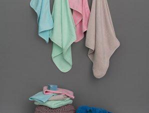 Βρεφικές Πετσέτες 40X60 (Σετ 2 Τμχ) Palamaiki Baby Bath Robin Fog