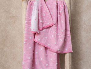 Πετσέτες Μπάνιου (Σετ 3 Τμχ) Palamaiki Towels Collection Monak